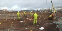 Insitu stabilisation of Chromium VI at Commonwealth Games Site